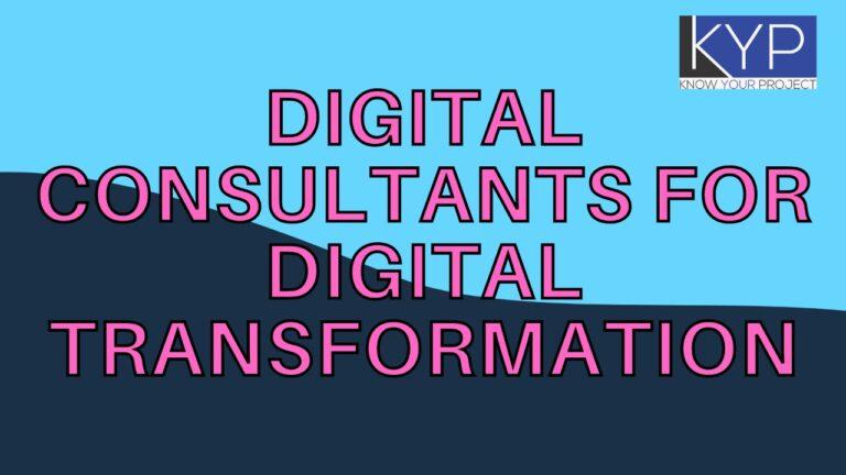 Digital Consultants for Digital Transformation