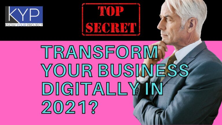 How to Transform Your Business Digitally in 2021?