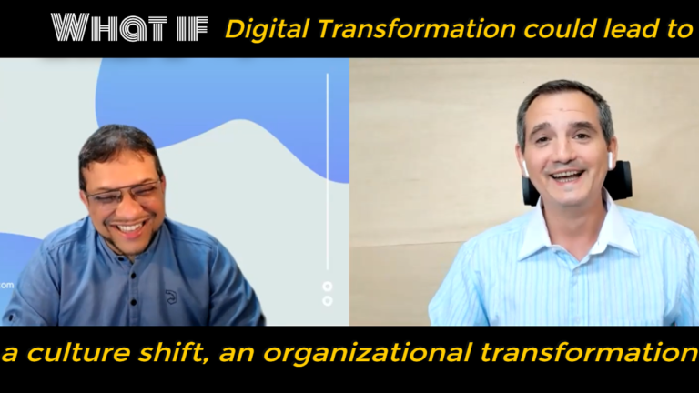 What if Digital Transformation could lead to | Xavier talks