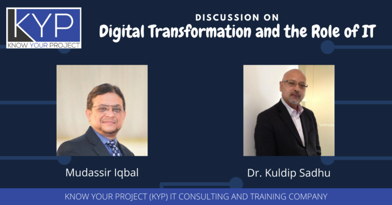 Discussion on Digital Transformation & the Role of IT